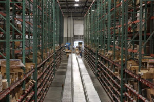 Supply chain management and e-commerce fulfillment in a state of the art warehouse facility.