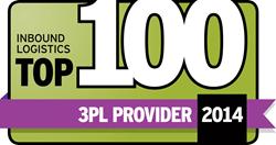 Inbound Logistics Top 100 3PL Provider logo