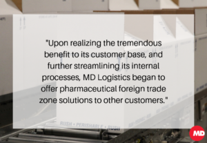Pharmceutical Foreign Trade Zone