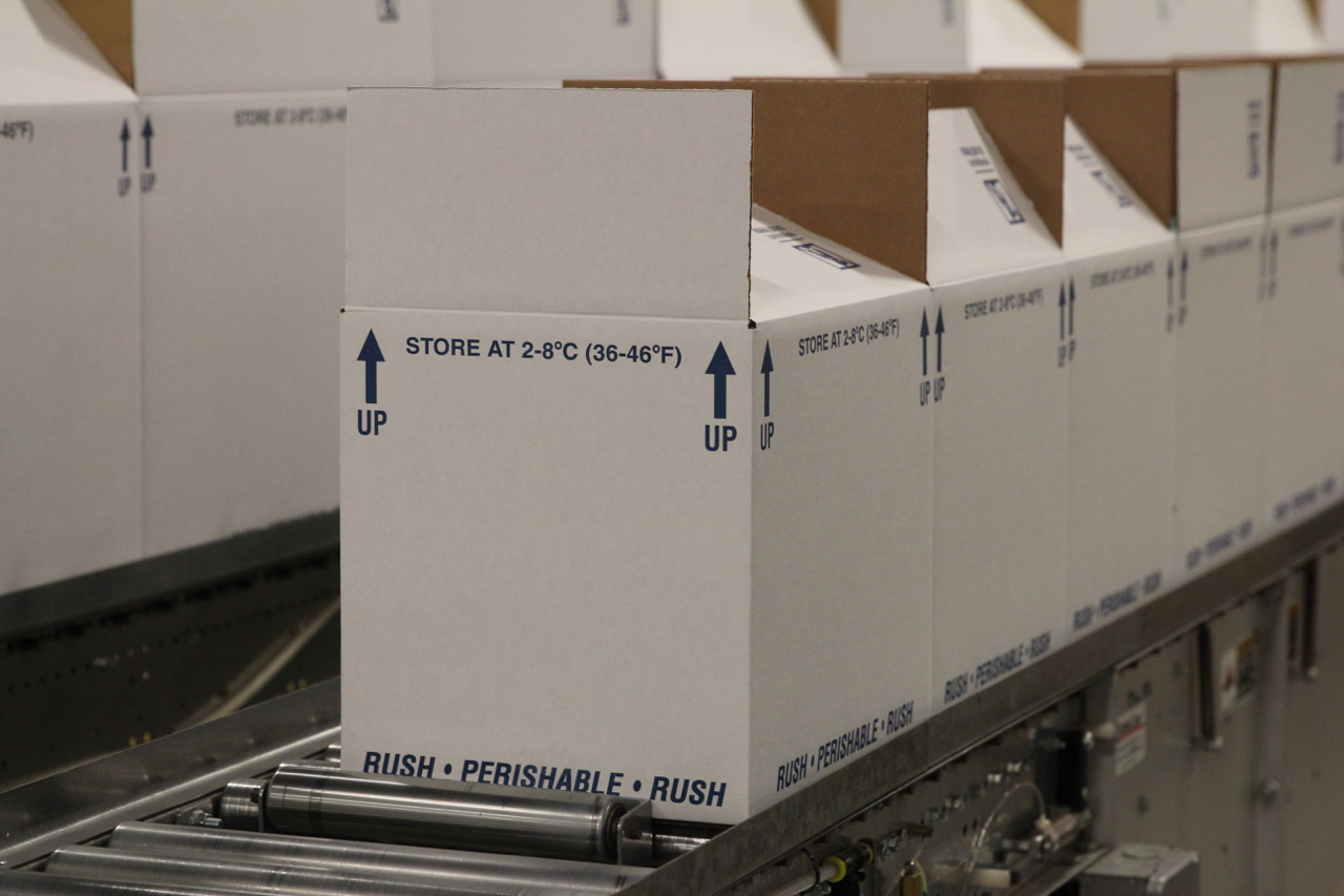 Image of Cold Chain Packaging for Pharmaceuticals