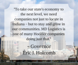 MD Logistics Expansion in Hendricks County