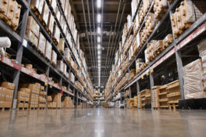 robots in the supply chain