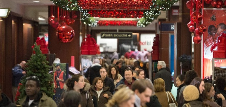 Holiday Shoppers looking for Holiday Sales