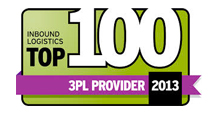 2013 Inbound Logistics Top 100 3PL
