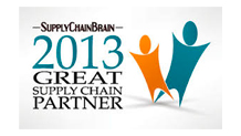 2013 Supply Chain Brain Great Supply Chain Partner