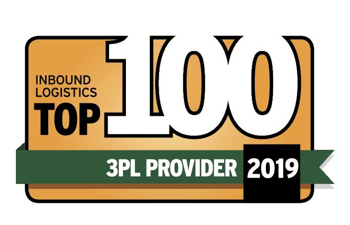 2019 top 100 3pl logo
