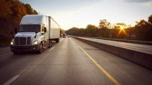 good logistics provider, truck on road